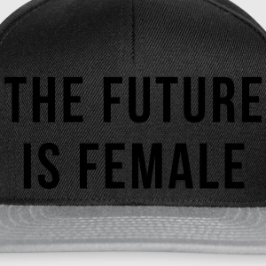 Future Is Female Quote Tee shirts - Casquette snapback