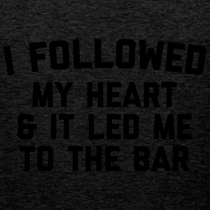 Led Me To Bar Funny Quote Bluzy - Tank top męski Premium