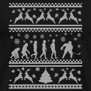 HOCKEY SUR GLACE EVOLUTION CHRISTMAS EDITION Sweat-shirts - T-shirt Premium Homme