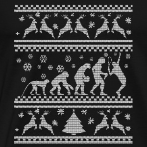 TENNIS EVOLUTION CHRISTMAS EDITION Gensere - Premium T-skjorte for menn
