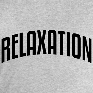 relaxation stylish arched text logo - Men's Sweatshirt by Stanley & Stella