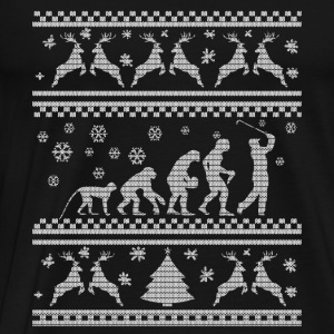 GOLF EVOLUTION WEIHNACHTSEDITION Tröjor - Premium-T-shirt herr