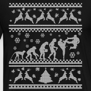 KARATE EVOLUTION WEIHNACHTSEDITION Sweaters - Mannen Premium T-shirt