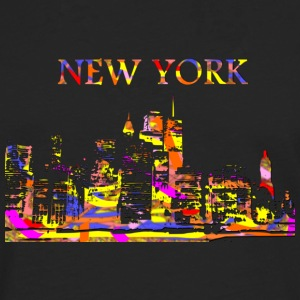 New york - T-shirt manches longues Premium Homme