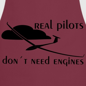 real glider pilot T-Shirts - Cooking Apron