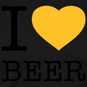 I LOVE BEER - Premium-T-shirt herr