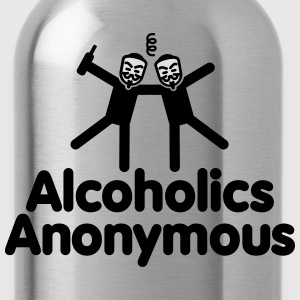 Alcoholics Anonymous 2 T-shirts - Vattenflaska