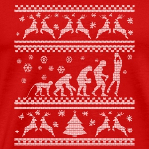 BASKETBALL EVOLUTION WEIHNACHTSEDITION Sportsbeklædning - Herre premium T-shirt