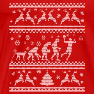 BASKETBALL EVOLUTION WEIHNACHTSEDITION Tops - Männer Premium T-Shirt