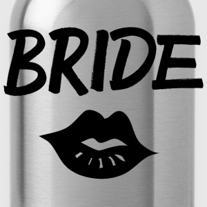 Bride Kiss black - Trinkflasche