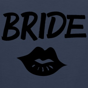 Bride Kiss black - Männer Premium Tank Top
