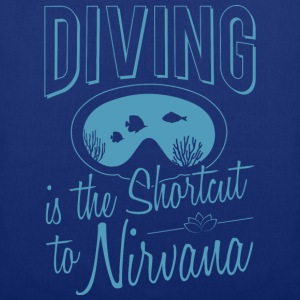 Diving is the Shortcut to Nirvana - Stoffbeutel