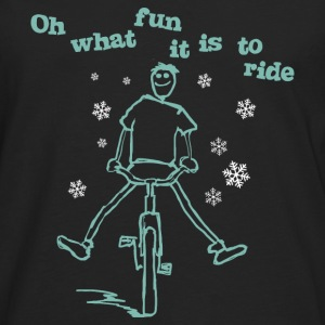 Oh what fun it is to ride - Männer Premium Langarmshirt