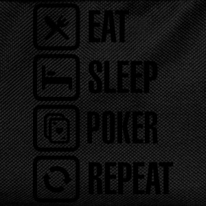 Eat - sleep - poker - repeat Hoodies & Sweatshirts - Kids' Backpack