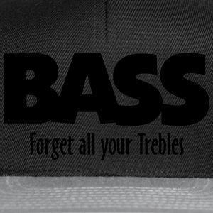 BASS forget all your Trebles Sudaderas - Gorra Snapback