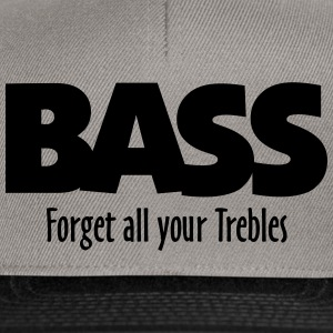 BASS forget all your Trebles Tops - Gorra Snapback