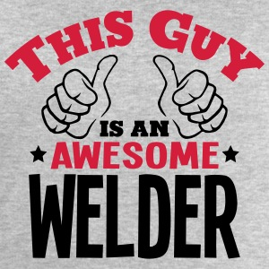 this guy is an awesome welder 2col - Men's Sweatshirt by Stanley & Stella
