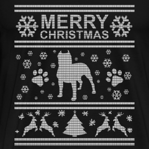 I LOVE MY PIT BULL CHRISTMAS SEDITION Hoodies & Sweatshirts - Men's Premium T-Shirt