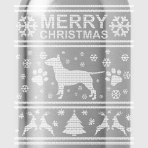 BULL TERRIER WEIHNACHTSEDITION T-Shirts - Trinkflasche