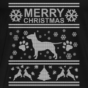 BULL TERRIER WEIHNACHTSEDITION Tee shirts manches longues Bébés - T-shirt Premium Homme