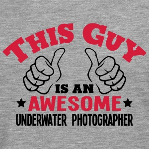 this guy is an awesome underwater photog - Men's Premium Longsleeve Shirt