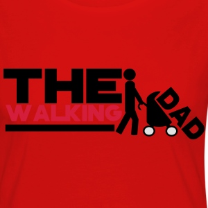 the walking dad! - T-shirt manches longues Premium Femme