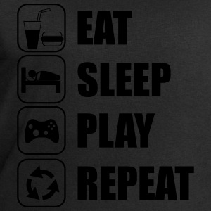 Eat,sleep,play,repeat T-shirt geek gamer console  - Sweat-shirt Homme Stanley & Stella