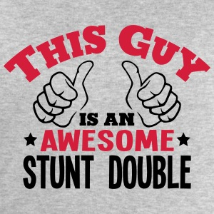 this guy is an awesome stunt double 2col - Men's Sweatshirt by Stanley & Stella