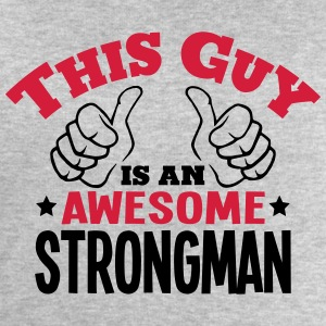 this guy is an awesome strongman 2col - Men's Sweatshirt by Stanley & Stella