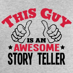 this guy is an awesome story teller 2col - Men's Sweatshirt by Stanley & Stella