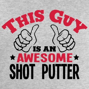 this guy is an awesome shot putter 2col - Men's Sweatshirt by Stanley & Stella