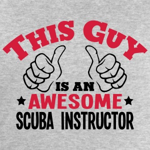 this guy is an awesome scuba instructor  - Men's Sweatshirt by Stanley & Stella