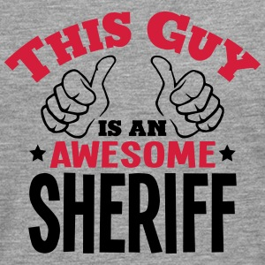 this guy is an awesome sheriff 2col - Men's Premium Longsleeve Shirt