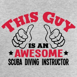 this guy is an awesome scuba diving inst - Men's Sweatshirt by Stanley & Stella