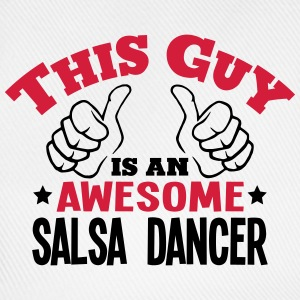 this guy is an awesome salsa dancer 2col - Baseball Cap