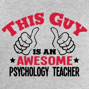 this guy is an awesome psychology teache - Men's Sweatshirt by Stanley & Stella