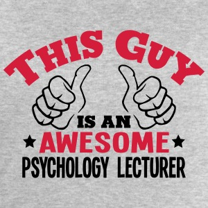 this guy is an awesome psychology lectur - Men's Sweatshirt by Stanley & Stella