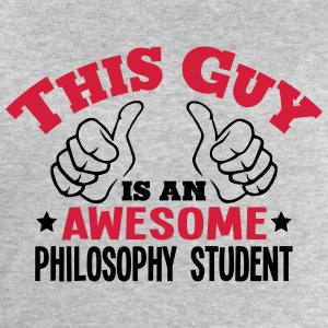 this guy is an awesome philosophy studen - Men's Sweatshirt by Stanley & Stella