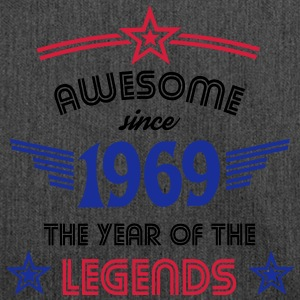 Awesome since 1969 T-Shirts - Schultertasche aus Recycling-Material