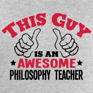 this guy is an awesome philosophy teache - Men's Sweatshirt by Stanley & Stella