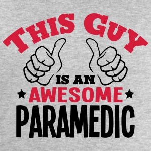 this guy is an awesome paramedic 2col - Men's Sweatshirt by Stanley & Stella