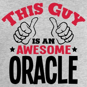 this guy is an awesome oracle 2col - Men's Sweatshirt by Stanley & Stella