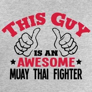 this guy is an awesome muay thai fighter - Men's Sweatshirt by Stanley & Stella