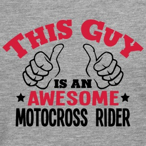 this guy is an awesome motocross rider 2 - Men's Premium Longsleeve Shirt
