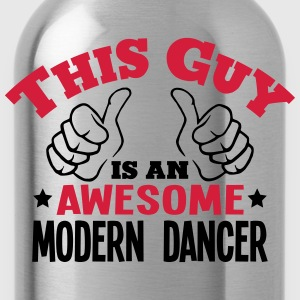 this guy is an awesome modern dancer 2co - Water Bottle
