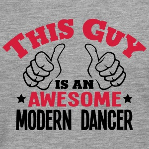 this guy is an awesome modern dancer 2co - Men's Premium Longsleeve Shirt