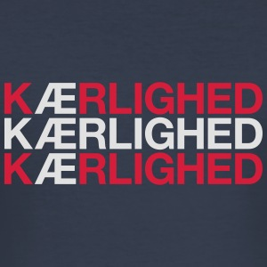 KAERLIGHED - Herre Slim Fit T-Shirt