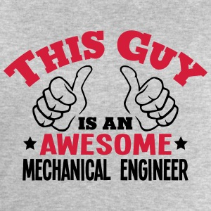 this guy is an awesome mechanical engine - Men's Sweatshirt by Stanley & Stella