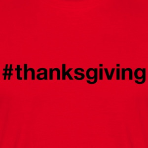 THANKSGIVING - Männer T-Shirt