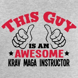 this guy is an awesome krav maga instruc - Men's Sweatshirt by Stanley & Stella